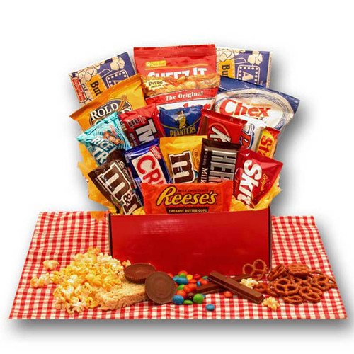 All American Favorites Snack Care Package  College Care Package