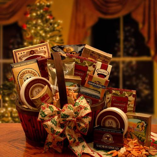 The Holiday Butler Gourmet Gift Basket | Christmas Gift Baskets