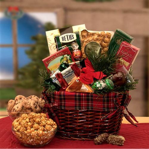 An Old Fashioned Christmas Gift Basket | Christmas Gift Baskets
