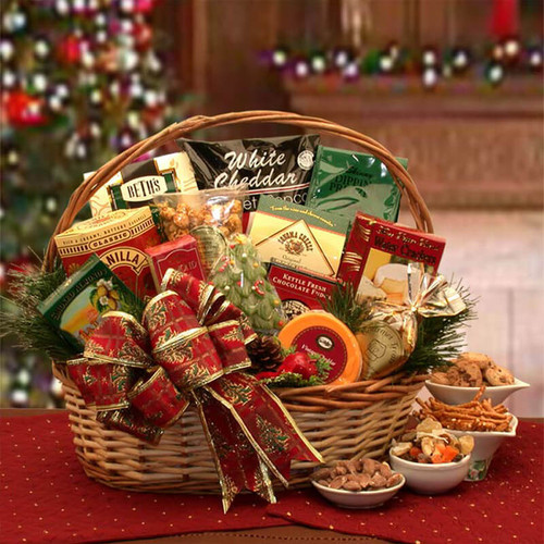 The Bountiful Holiday Gourmet Gift Basket   Christmas Gift Baskets