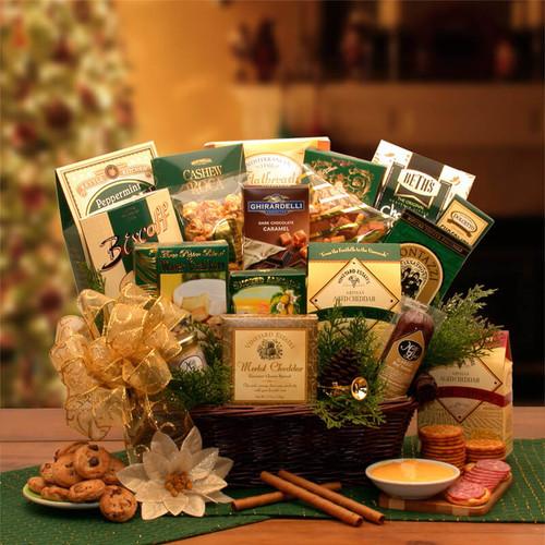 The Holiday Sampler Gift Basket | Christmas Gift Baskets