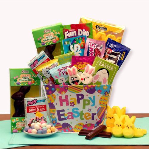 Hoppy Bunny Treats Easter Gift Basket | Easter Gift Baskets