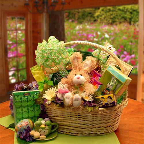 An Easter Festival Deluxe Gift Basket | Easter Gift Baskets