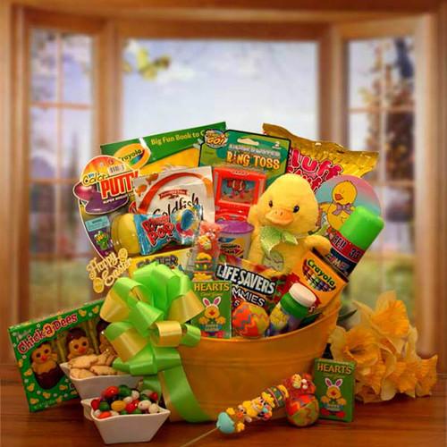 Easter Sunshine Little Duckling Gift Pail | Easter Gift Baskets