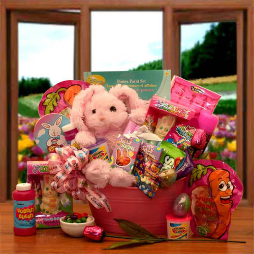 Hunny Bunnies Easter Activity & Treats Pail | Easter Gift Baskets