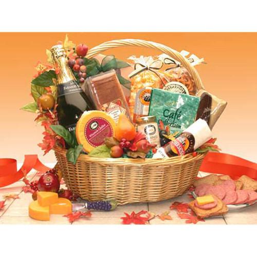 Thanksgiving Gourmet Gift Basket | Fall Gift Baskets