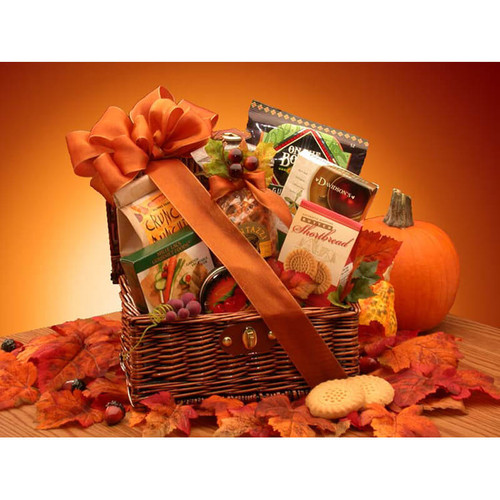 Fall Snack Chest | Fall Gift Baskets