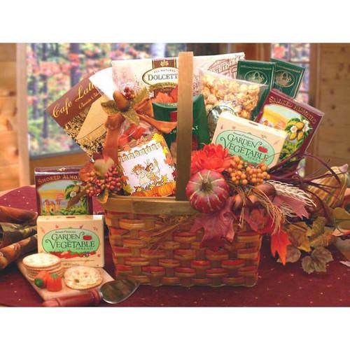Harvest Blessings Gourmet Fall Gift Basket | Fall Gift Baskets