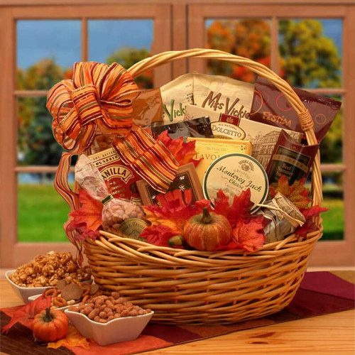 Shades of Fall Snack Gift Basket | Fall Gift Baskets