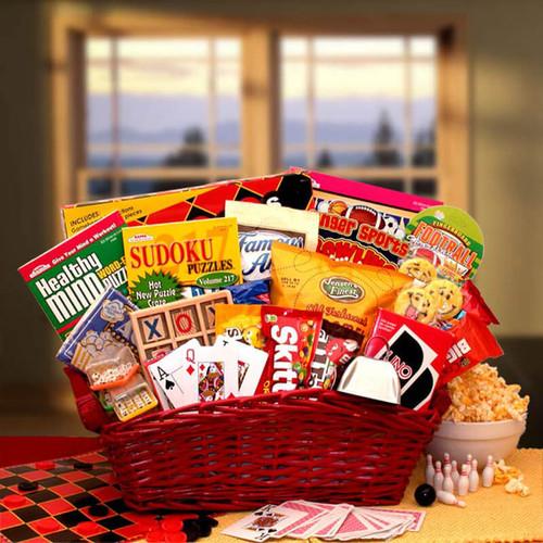 Fun & Games Gift Basket
