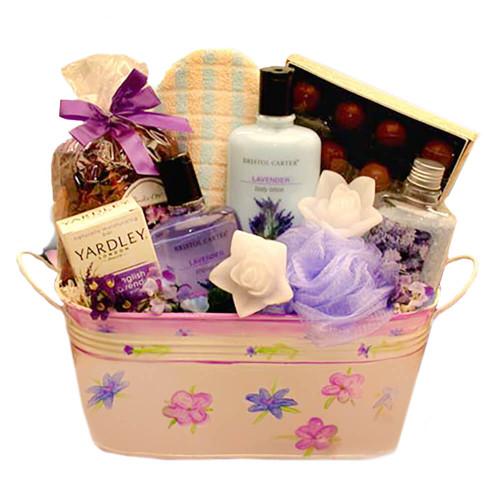 Serenity Spa Gift Set   Spa Gift Baskets