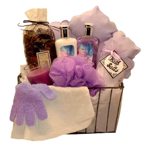 Bath & Body Spa Caddy | Spa Gift Baskets