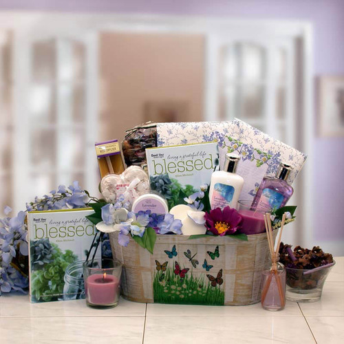 So Serene Spa Essentials Gift Set with out book | Spa Gift Baskets