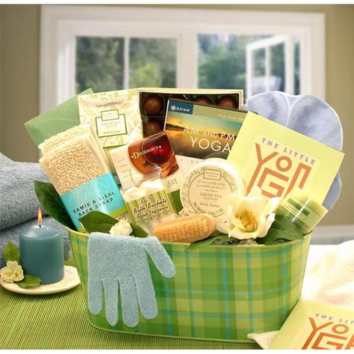 A Little Yoga & Green Tea Essentials Gift Set