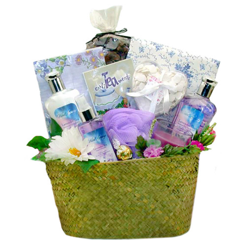 The Perfect Pampering Spa Gift Basket