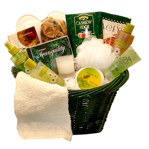 Luxury Spa Gift Basket