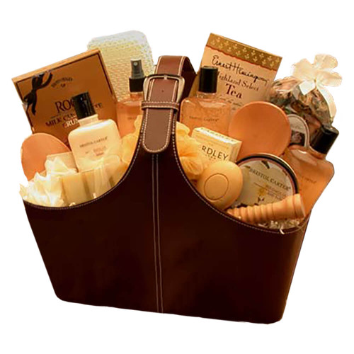 Spa Perfect Relax & Rejuvenate Tote | Spa Gift Baskets