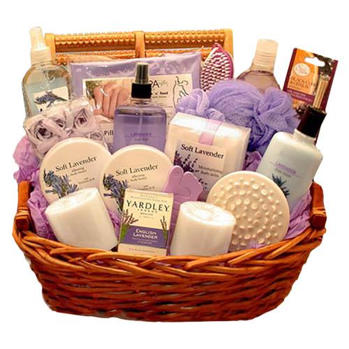 The Lavender Essence Spa Gift Basket | Spa Gift Baskets