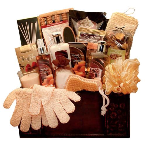 Indulge your senses Caramel Spa Treasures Gift Chest