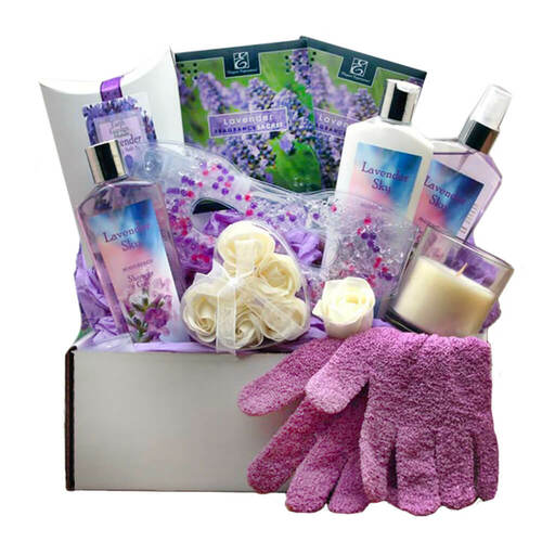 Soothing Essentials Lavender Sky Spa Gift Box