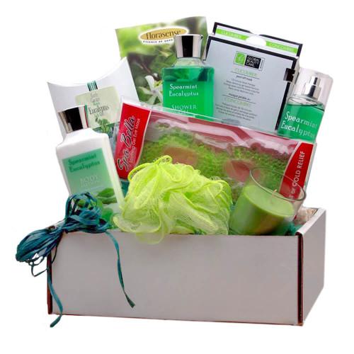 Rejuvenating Eucalyptus Spa Gift Box | Spa Gift Baskets