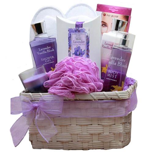Lavender Spa Gift Basket | Spa Gift Baskets