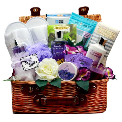Soothing Essentials Lavender Spa Gift Hamper | Spa Gift Baskets