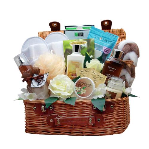 Delightfully Sweet Vanilla Spa Gift Hamper | Spa Gift Baskets