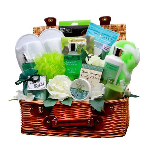 Rejuvenating Eucalyptus Spa Gift Hamper   Spa Gift Baskets