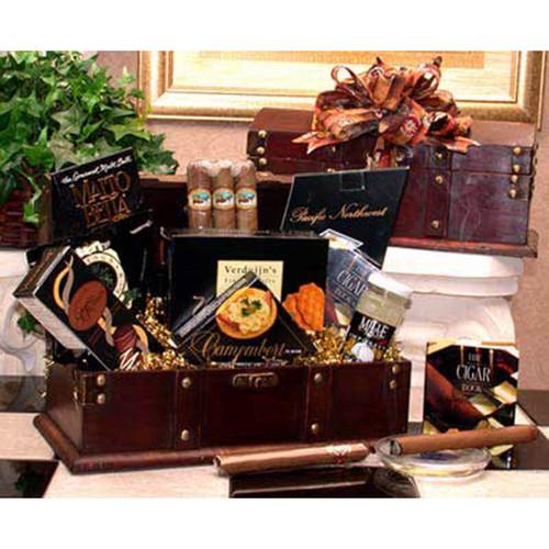 Gentleman's Cigar Chest | Gift Baskets For Men