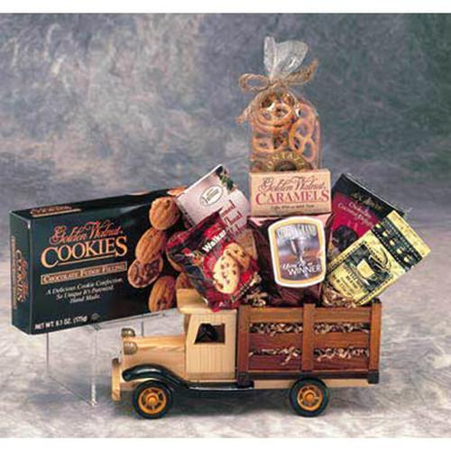 Executive Antique Truck Gift Set   Gift Baskets For Men