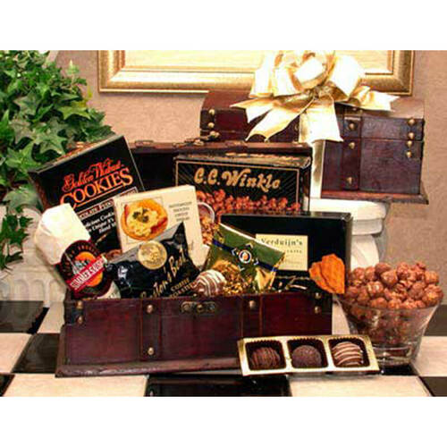 Gourmet Desk Caddy   Gift Baskets For Men