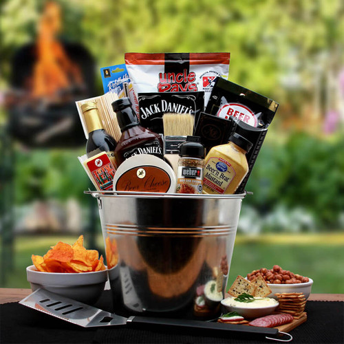 BBQ Lovers Gift Pail |Grill Gift Baskets