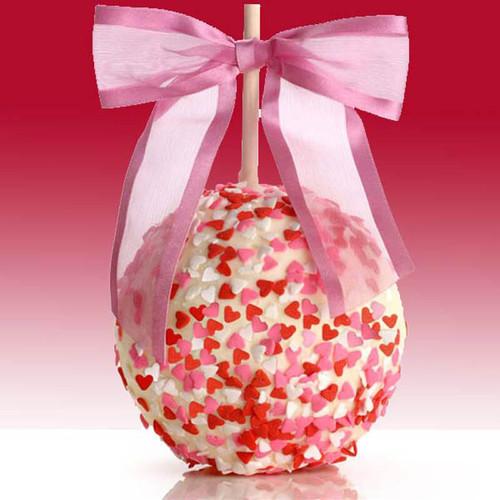 Sweethearts Caramel Chocolate Dipped Apple
