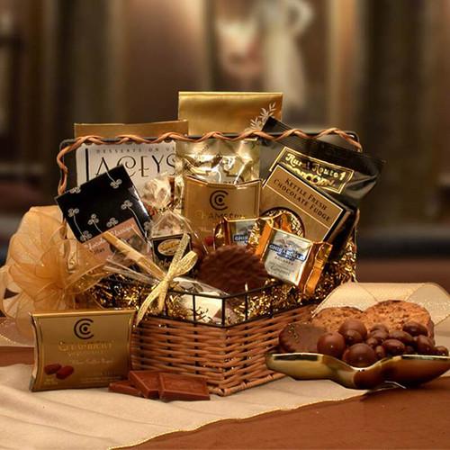Chocolate Treasures Gourmet Gift Basket