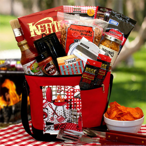 The Master Griller BBQ Gift Chest | BBQ Gift Baskets