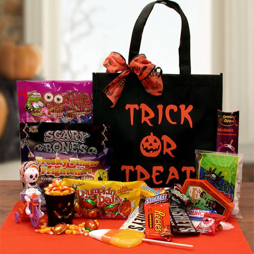 Trick Or Treat Halloween Gift Tote