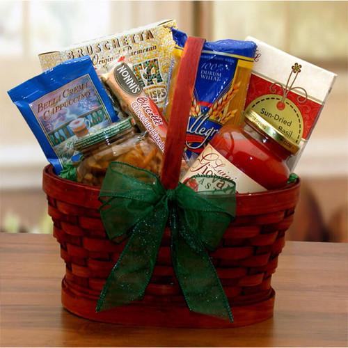 Mini Italian Dinner For Two Gift Basket