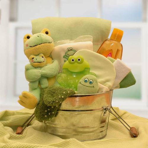 Newborn Baby Little Pollywogs Bath Tub  | Baby Gift Baskets