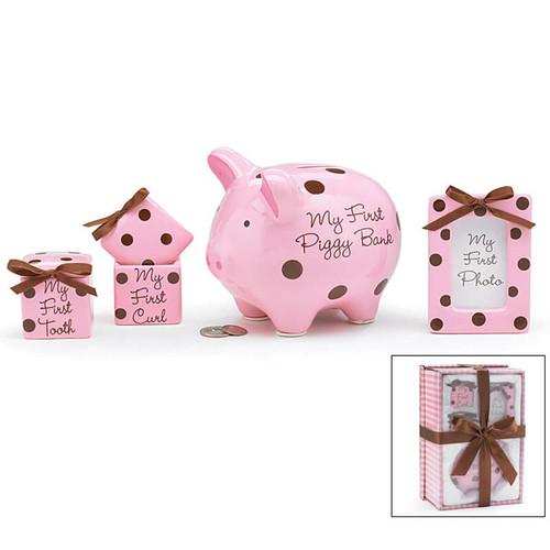 Keepsake Gift Set for Baby Girls | Baby Gift Baskets