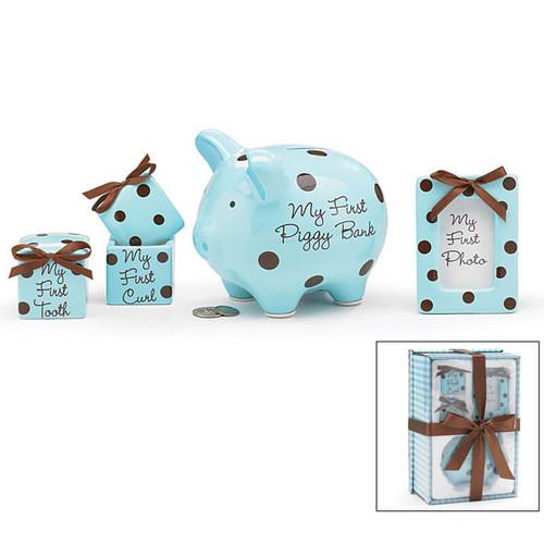 Baby Boy Keepsake Gift Set| Baby Gift Baskets