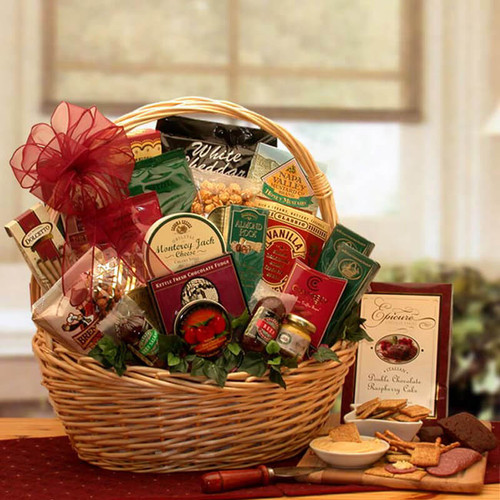 Snack Attack Snack Gift Basket