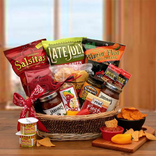 Gourmet Chips & Salsa Gift Basket