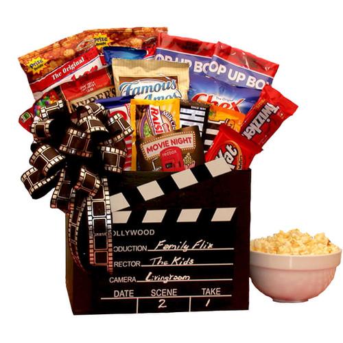 Family Flix Movie Gift Box | Movie Night Gift Baskets