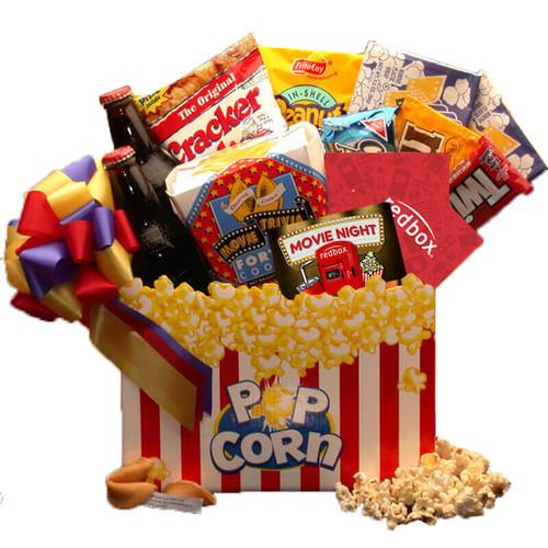 Movie Night Mania  Gift Box - with 10.00 Redbox Gift Card