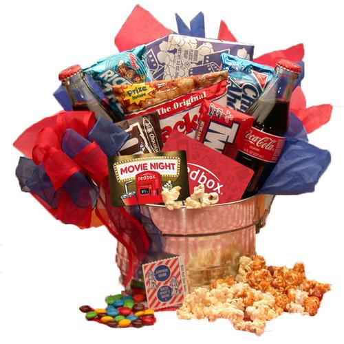 Blockbuster Night Movie Pail w/ $10 Redbox Gift Card