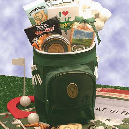 Golfing Around Backpack   Golf Gift Baskets