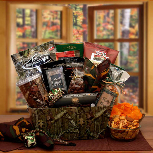 It's A Camo Thing Gift Set | Gift Baskets For Men
