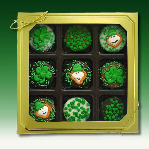 St Patrick's Chocolate Dipped Oreo's