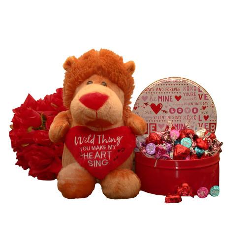 Wild Thing Gift Set| Valentines Gift Basket